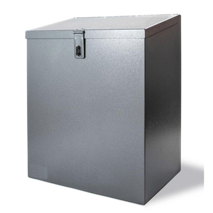 OEM Stainless steel metal enclosure with lock