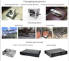 Custom sheet metal parts electronics enclosure metal
