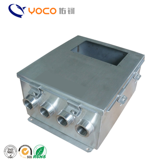 Customized sheet metal electronic electric enclosure