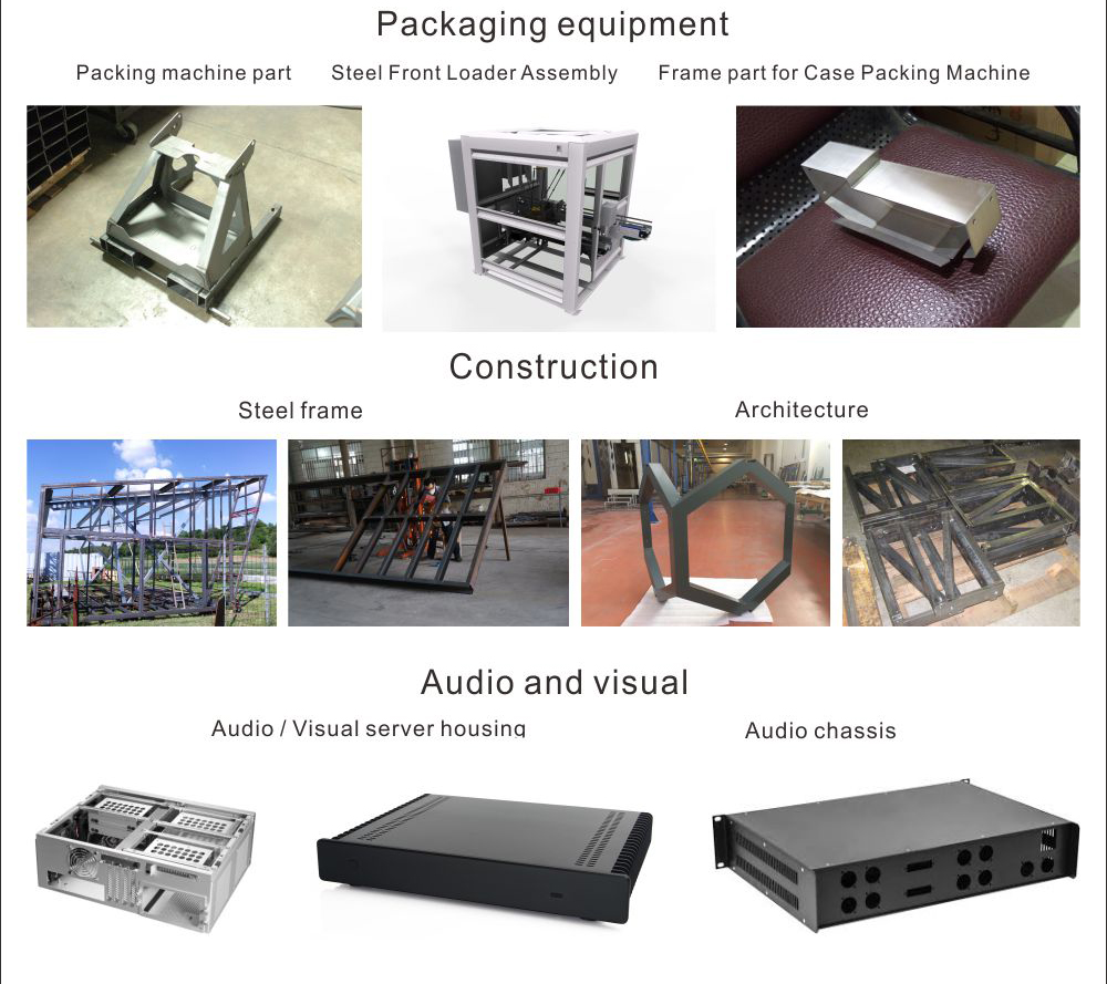 Custom stainless steel metal cover electronic cnc aluminum housing