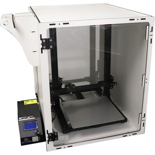 Custom sheet metal working printer enclosure