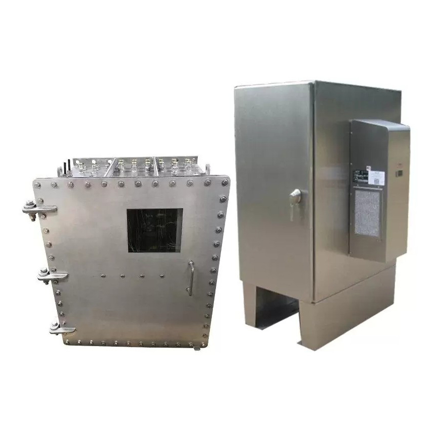 Custom sheet metal working electrical enclosure