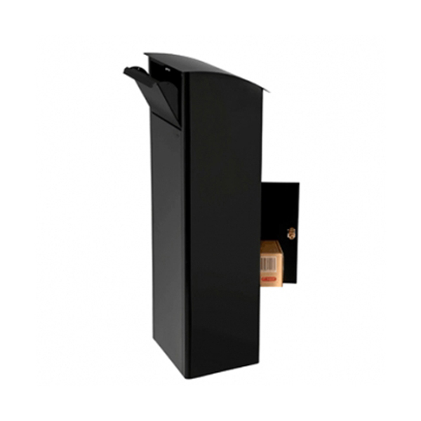 locking outdoor wall mounted bronze letter mail box steel
