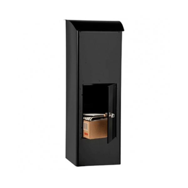 black package through the wall mailbox parcel manufacturer