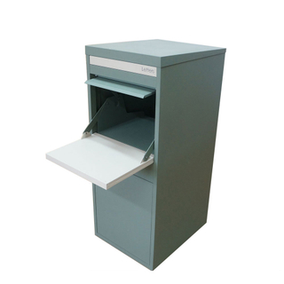 Home Stainless Steel Large Outdoor Delivery Parcel Lockable Big Mail Drop Box Outdoor at Porch