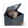 modern black parcel boxes brass mailbox metal numbers size 1moq