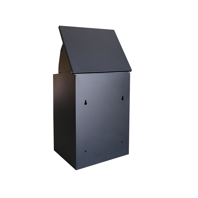 Custom Smart Wall Built in Metal Parcel Packages Courier Delivery Mail Drop Delivery Post Box