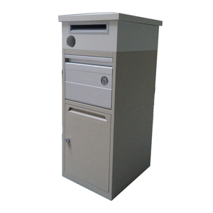 custom packaging safe fingerprint lock wall mounted mailbox